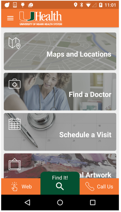 UHealth App Screenshot